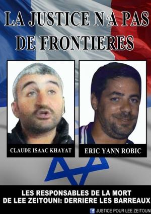 Eric Robic et Claude Khayat